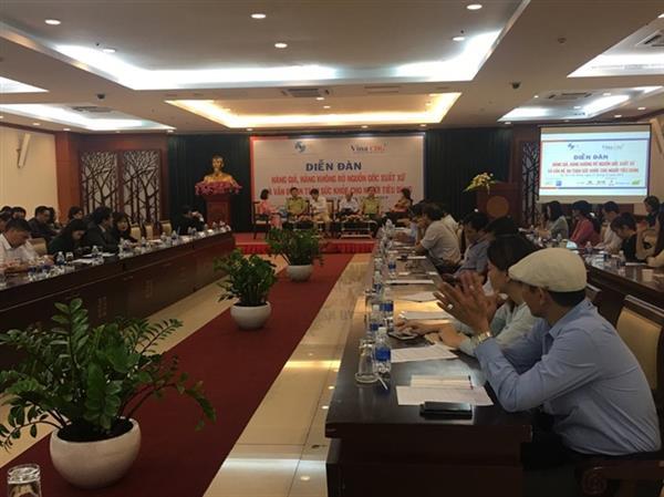 Hàng Mỹ giả xuất xứ Việt Nam xuất sang Trung Quốc