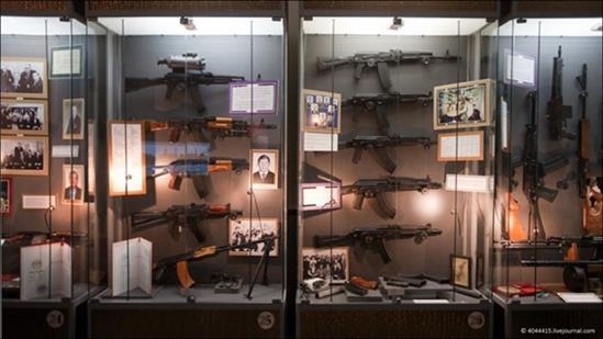Bên trong bảo tàng súng nổi tiếng tại Nga