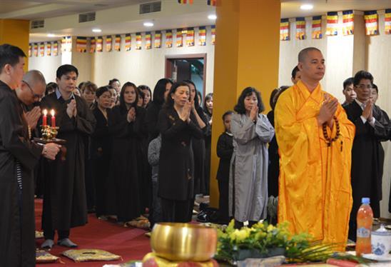 Phật tử người Việt tại Nga mừng Đại lễ Phật đản 2016 (Phật lịch 2560)