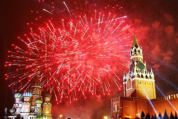 Để Chào Mừng Năm Mới 2018, Moskva Sẽ Tiến Hành Bắn Pháo Hoa Tại 36 Điểm  Trên Toàn Thành Phố, Bao Gồm: 17 Địa Điểm Bắn Pháo Hoa Loại Cao Trên Các ...