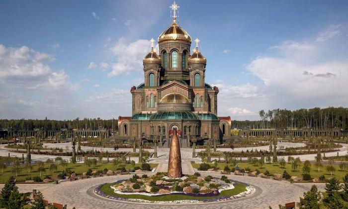 Nhà thờ Chính của Lực lượng Vũ trang Nga: Biểu tượng mới của lịch sử nước Nga