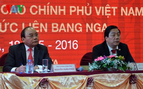 Thủ tướng Nguyễn Xuân Phúc gặp mặt cộng đồng người Việt tại Nga.