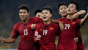 ĐT Việt Nam thăng bậc trên bảng xếp hạng thế giới đầu năm 2019