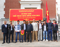 Người Việt tại Nga: Tổng kết hoạt động thể thao cộng đồng 2012 (Tin ảnh)