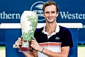 Medvedev vô địch Cincinnati Masters