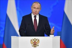 Tổng thống V.Putin khẳng định vai trò quan trọng của căn cứ quân sự Nga tại Kyrgyzstan