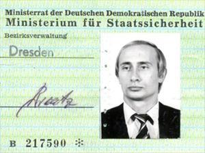 Tìm thấy thẻ điệp viên Stasi của ông Putin ở Đức