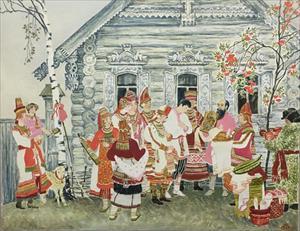 """Khám phá những nét đặc sắc trong """"Nghi lễ cưới của các dân tộc Nga"""" giữa lòng Hà Nội"""