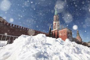 Moskva: Tuyết rơi nhiều, lớp tuyết phủ có thể lên đến 12-14 cm