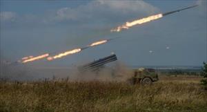 Xem pháo binh Nga phô diễn uy lực khủng khiếp