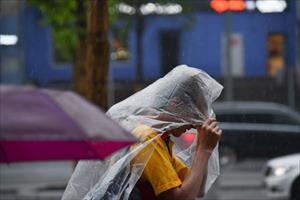 Moskva có mưa to, gió mạnh suốt nhiều ngày