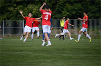 Tin ảnh: Hai trận Bán kết ngày 11/8 - Giải bóng đá cộng đồng 2012
