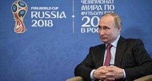 Vị khách mời đặc biệt trong lễ khai mạc World Cup 2018 của Tổng thống Putin