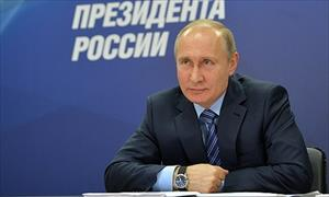 Putin nhận được hơn 1,5 triệu chữ ký ủng hộ tranh cử tổng thống