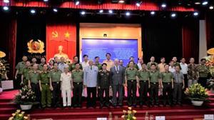 Bộ Công an thúc đẩy quan hệ hợp tác hữu nghị truyền thống Việt Nam – Liên bang Nga