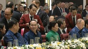 Chủ tịch nước Trần Đại Quang chủ trì tiệc chiêu đãi lãnh đạo APEC