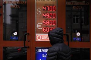 Nga: Đồng đôla vượt mức 48 rúp/USD, trên nền quyết định của OPEC