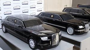Tổng thống Putin thử xe limousine mới của Kortezh Nga