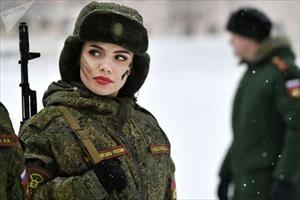 Ảnh: Các nữ quân nhân - Sức mạnh không thể xem thường của quân đội Nga