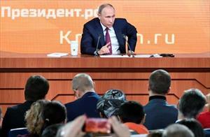 Họp báo thường niên 2017: Tổng thống Vladimir Putin muốn xây dựng một nước Nga hiện đại
