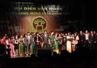 Kết quả Hội diễn văn nghệ cộng đồng mừng Đảng, mừng Xuân Nhâm Thìn 2012