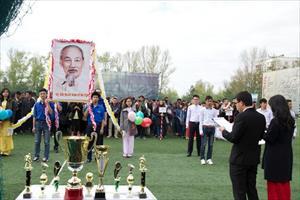 Bế mạc Đại hội thể thao sinh viên Việt Nam tại LB Nga năm 2015