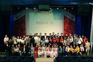 """Những sắc thái ấn tượng của đêm Đại nhạc hội """"RUDN 19"""""""