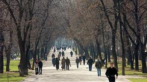 Moskva sắp ấm đến 20 độ C ?
