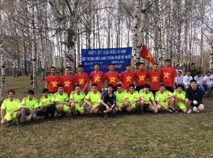 Cộng đồng người Việt tại Yaroslav kỷ niệm 42 năm thống nhất đất nước và Ngày Quốc tế Lao động 1/5
