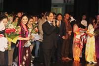 Nhìn lại tổng quát về Hội diễn Văn nghệ cộng đồng người Việt Nam tại LB Nga 2012