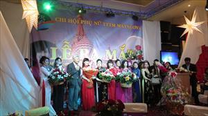 Chi hội phụ nữ trung tâm thương mại Moskva - Một bông hoa đẹp mừng ngày 20/10
