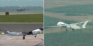 Video: Máy bay không người lái Nga có thể chở 1 tấn vũ khí lần đầu cất cánh