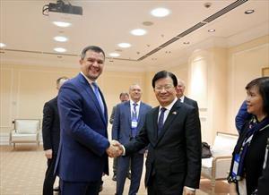 Tiếp tục đẩy mạnh hợp tác Việt-Nga qua cơ chế Ủy ban Liên Chính phủ