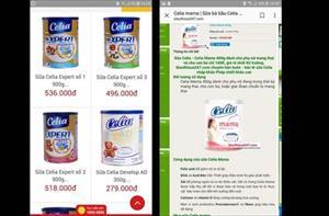 Bán sữa đã bị cảnh cáo ngưng tiêu thụ
