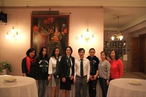 Tin ảnh: Hội thảo du học Thụy Sĩ ngày 4/3 tại Mátxcơva
