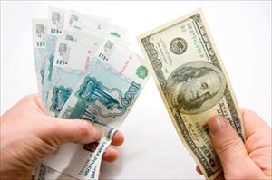 Đồng ruble Nga đã trong tầm kiểm soát