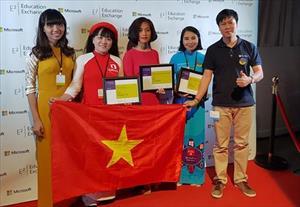Cô giáo Việt giành giải cao nhất tại Diễn đàn Giáo dục toàn cầu