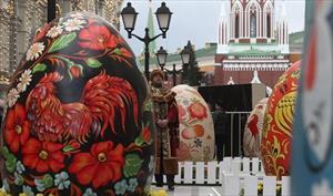 """Lễ hội """"Món quà Phục Sinh"""" 2017 ở Moskva"""