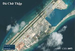 Trung Quốc lắp đặt trái phép nhiều thiết bị quân sự ở Biển Đông