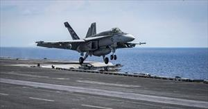 Phi cơ Mỹ rơi trên đường tới bán đảo Triều Tiên