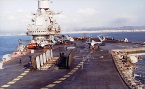 Nga biến Đô đốc Kuznetsov thành quái vật biển