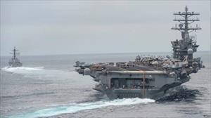 Tàu sân bay thứ ba của Mỹ đến gần Triều Tiên làm gì?