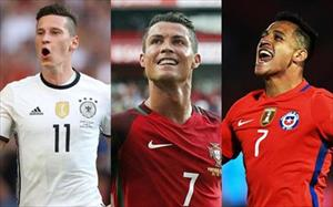 Tiết lộ đội hình mạnh nhất của 8 đội tham dự Confederations Cup 2017