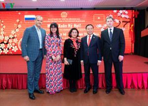 ĐSQ Việt Nam tại LB Nga mừng Xuân Kỷ Hợi
