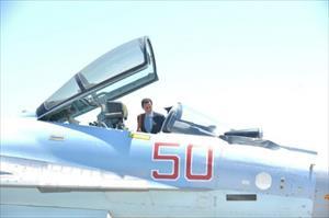 Tổng thống Syria lên chiến đấu cơ Nga