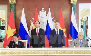 Chuyến thăm của Chủ tịch nước Trần Đại Quang giúp mối quan hệ giữa Việt Nam với CH Belarus và LB Nga ngày càng phát triển toàn diện