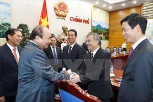 Thủ tướng gặp các đại sứ, trưởng cơ quan đại diện ở nước ngoài