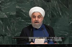 Iran diễu binh, khẳng định quyết tâm phát triển tên lửa đạn đạo