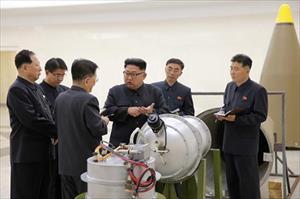 Triều Tiên doạ kích nổ bom H ra Thái Bình Dương để đáp trả Mỹ
