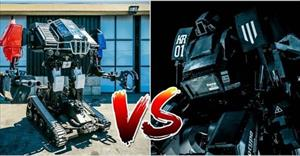 """""""Trận đại chiến"""" giữa 2 robot khổng lồ của Mỹ và Nhật sắp được phát trực tuyến"""